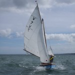Lilias - Chris Smith keeping her upright